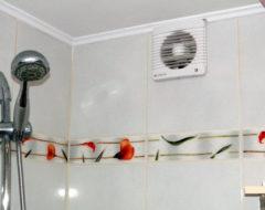 Устанавливаем вытяжку в ванной и туалете